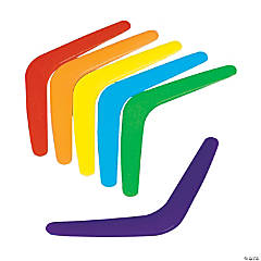 Colorful Boomerangs