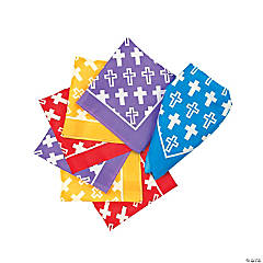Colorful Cross Bandanas