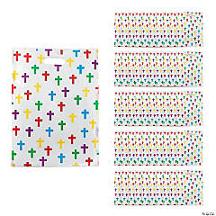 Colorful Cross Gift Bags with Handle
