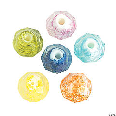 Colorful Glitter Beads - 10mm