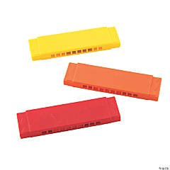 Colorful Harmonicas