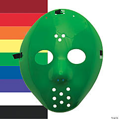 Colorful Hockey Masks