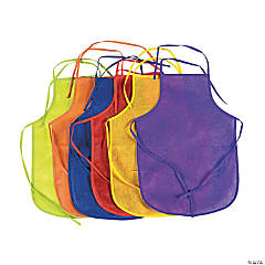 Colorful Kids' Aprons