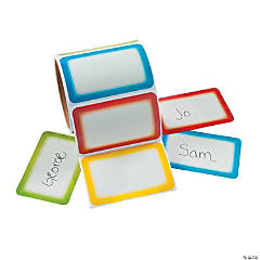 Colorful Name Self-Adhesive Tags/Labels