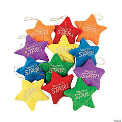 Colorful Plush Stars
