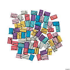 Colorful Rectangle Polymer Beads - 6mm