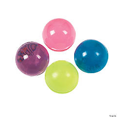 Colorful Translucent Bouncing Balls