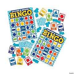 Colors & Shapes Premium Bingo