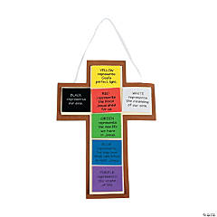 """Colors of Faith"" Cross Craft Kit"