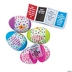Colors of Faith-Filled Eggs - 12 Pc.