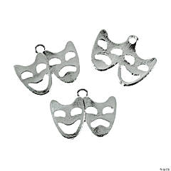Comedy/Tragedy Mask Charms