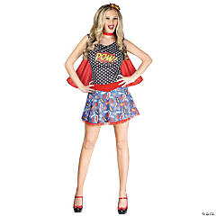 Comic Book Cutie Costume for Women