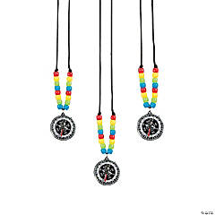 Compass Beaded Necklace Craft Kit