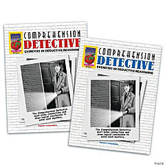 Comprehension Detective Books: Set of 2