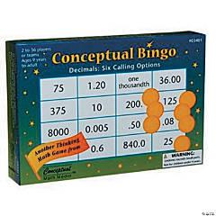 Conceptual Bingo: Decimals