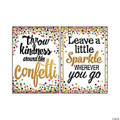 Confetti Positive Posters