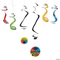 Congrats Grad Hanging Swirls Mega Pack