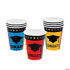 Congrats Grad Paper Cups