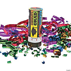 Congrats Grad Party Poppers