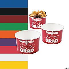 Congrats Grad Snack Bowls