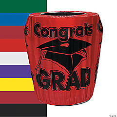 Congrats Grad Trash Can Cover