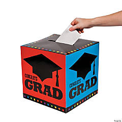 """Congrats Grad"" Card Box"