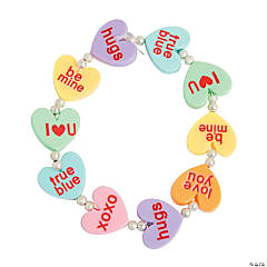 Conversation Heart Bracelet Craft Kit