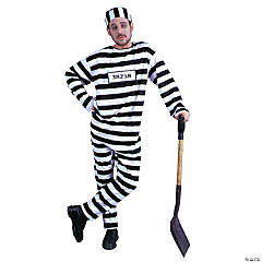 Convict Standard Adult Men's Costume