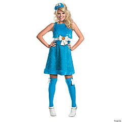 Cookie Monster Sexy Adult Women's Costume