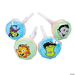 Cool Ghoulz Printed Lollipops