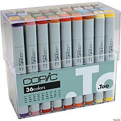 Copic Original Markers Set 36/Pkg-Basic