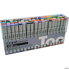 Copic Sketch Markers Set 72/Pkg-Set D