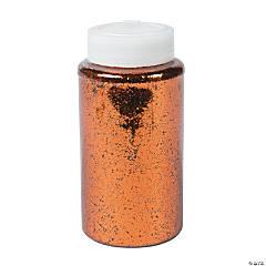 Copper Glitter Jar