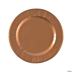 Copper Paper Chargers