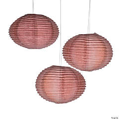 Copper Paper Lanterns