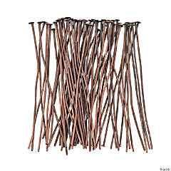 Copper-Tone Headpins - 2
