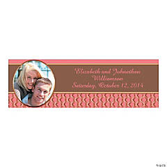Coral & Copper Custom Photo Banners