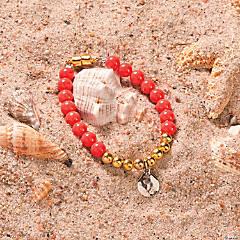 Coral Beach Bracelet Idea
