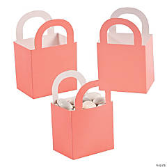 Coral Favor Gift Baskets