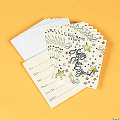Count Down To New Year's! Invitations