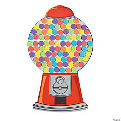 Count to 100 Gumball Machine Craft Kit