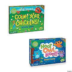 Count Your Chickens and Hoot Owl Hoot: Set of 2