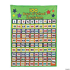 Countdown to 100th Day of School Pocket Chart