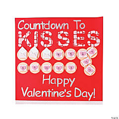 Countdown to Kisses Page Idea