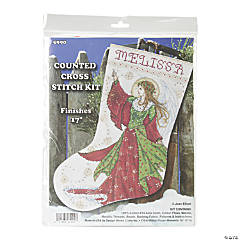 Counted Xstitch Kit -Angel Of Joy