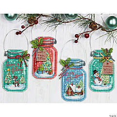 Counted Xstitch Kit-Christmas Ornaments