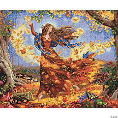 Counted Xstitch Kit-Fall Fairy