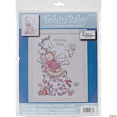 Counted Xstitch Kit-Giraffe Birth Record
