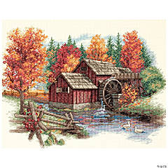 Counted Xstitch Kit-Glory Of Autumn