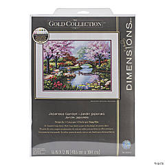 Counted Xstitch Kit-Japanese Garden